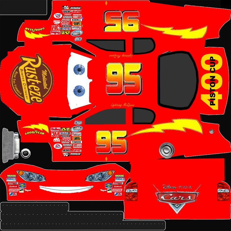 lightning mcqueen stencil | Nascar 09 « Bmxboy24's Site for Video Games Cheats, Tips, and more!