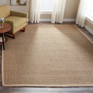 Shop For Safavieh Handwoven Natural Beige Seagrass Area Rug 9 X 12