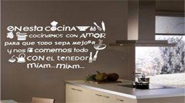 ¿Queréis decorar vuestra casa de forma rápida, original y económica?  Incorporad vinilos en vuestras paredes. Varias temáticas disponibles y ahora con un 30% de descuento, si introducís el código VTO2 en el momento de compra. Consulta los vinilos en: www.vinilizate.com o www.decoratupared.com  #vinilos #vinils #decoracion #cocina