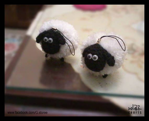 Shirley Sheep Amigurumi pattern from Shaun the Sheep