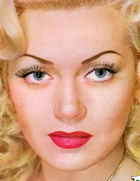 17 Best ideas about 50s Makeup on Pinterest   1950 makeup ...