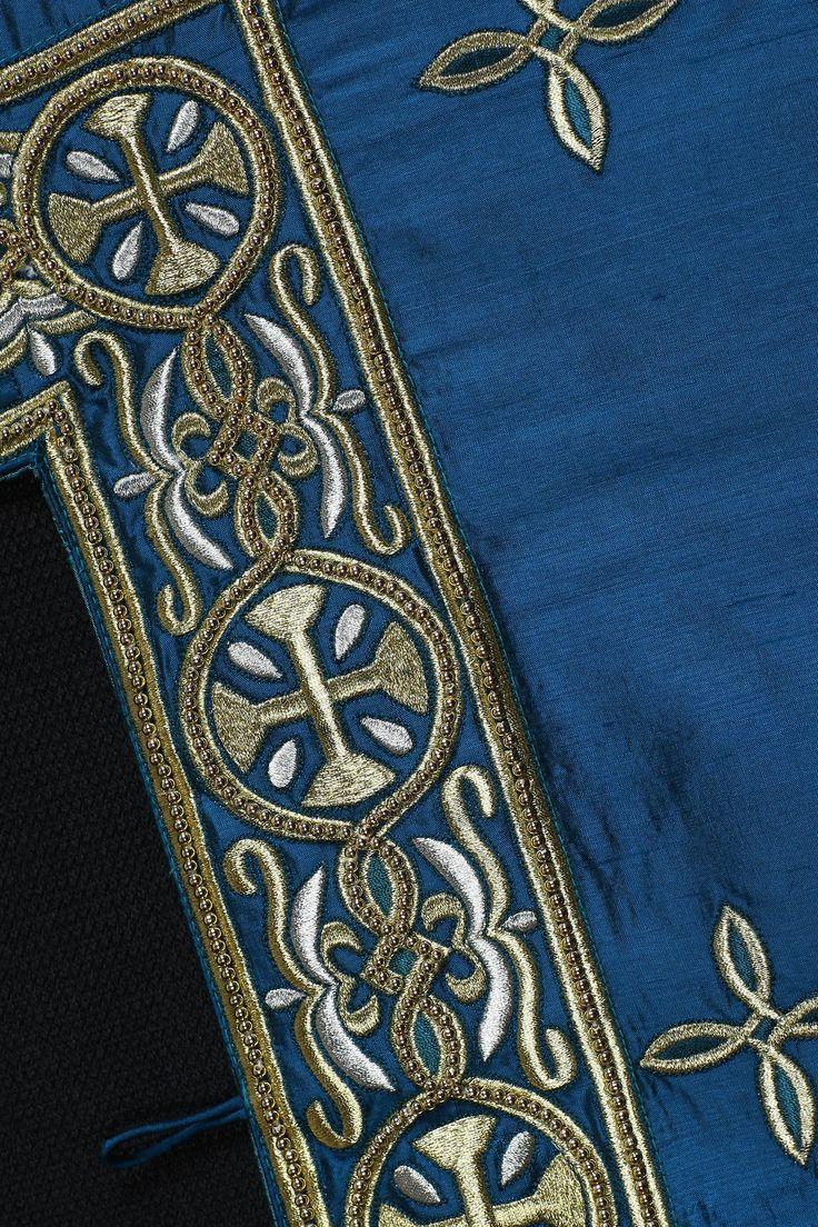 Деталь саккоса. Афонский монастырь Хиландар