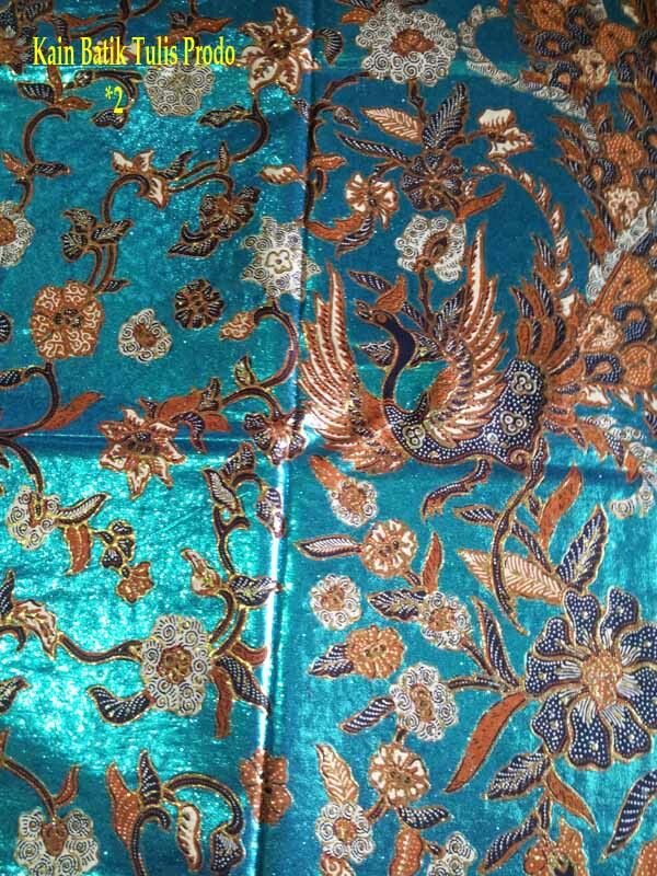 Kain Batik Tulis Prodo; Eksklusif