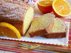 PLUMCAKE ALL'ARANCIA Il Plumcake all'Arancia più soffice del mondo! Perfetto per la Colazione e la Merenda, questo delizioso Plumcake vi migliorerà la gior