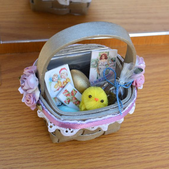 105 best the little habit images on pinterest doll accessories finally here are sweet christian easter baskets for the dolls so they can help negle Choice Image