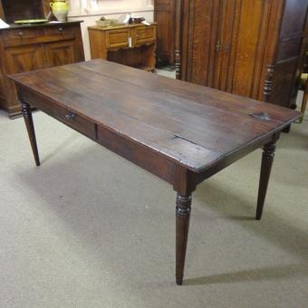 19th Century French Antique Farm Table