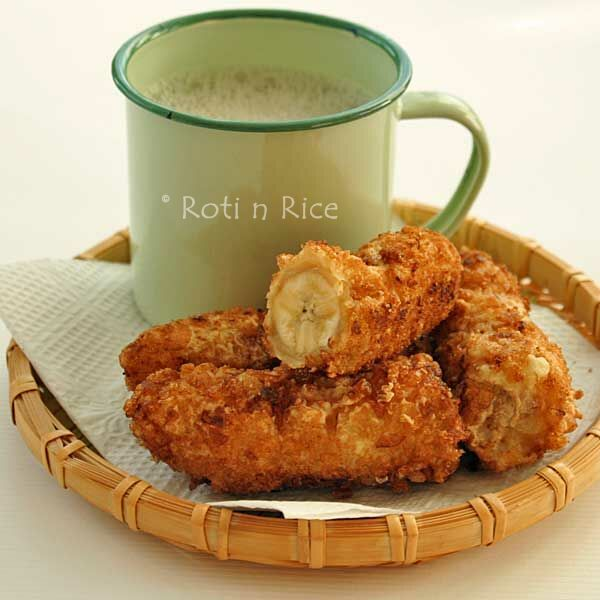 Pisang Goreng (Banana Fritters) | Recipe | Gluten free, Fried bananas ...