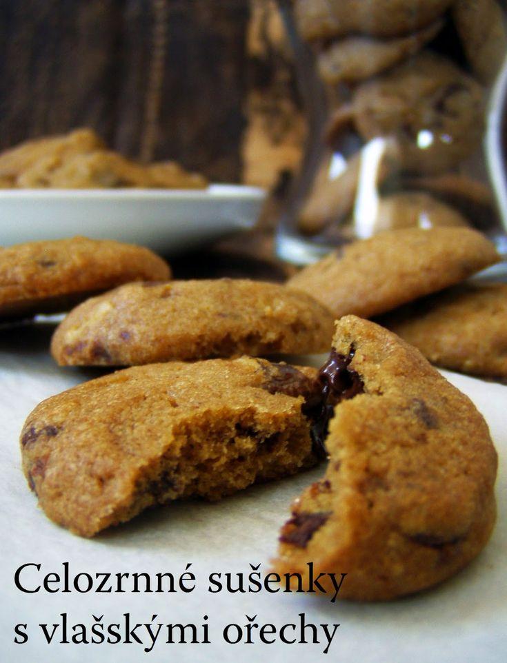 TynaTyna: Celozrnné sušenky s vlašskými ořechy