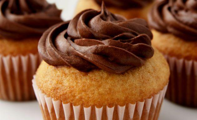 Receita de cupcake de baunilha