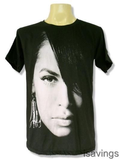 AALIYAH T-shirt, Urban POP Queen R&B Soul, BLACK Cotton S M L Princess MUSIC Rap in Clothing, Shoes & Accessories | eBay