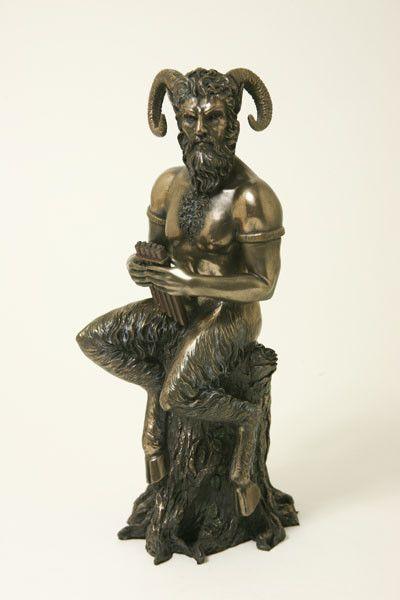 Pan, (Faunus)<br /> god van het woud bij Crystal Temptation in Venlo