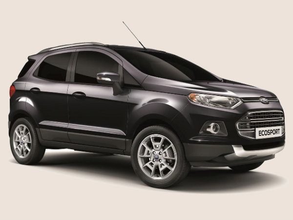 Ford EcoSport Panther Black Titanium Limited Edition Appears In Europe