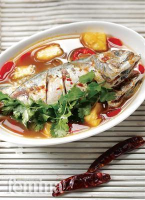 Pindang Ikan Asam Pedas Femina