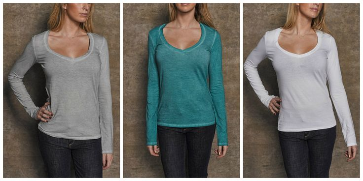 #PickOfTheDay Class up this Long Sleeve V-Neck by GM with a glamorous choker and wear it to work or out. It comes in eight different colors!   Pick yours here: http://bit.ly/1Lf4Jp5