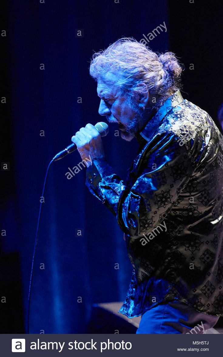 Robert Plant and the Sensational Space Shifters perform at the Orpheum Theatre on February 21, 2018 in Minneapolis, Minnesota.