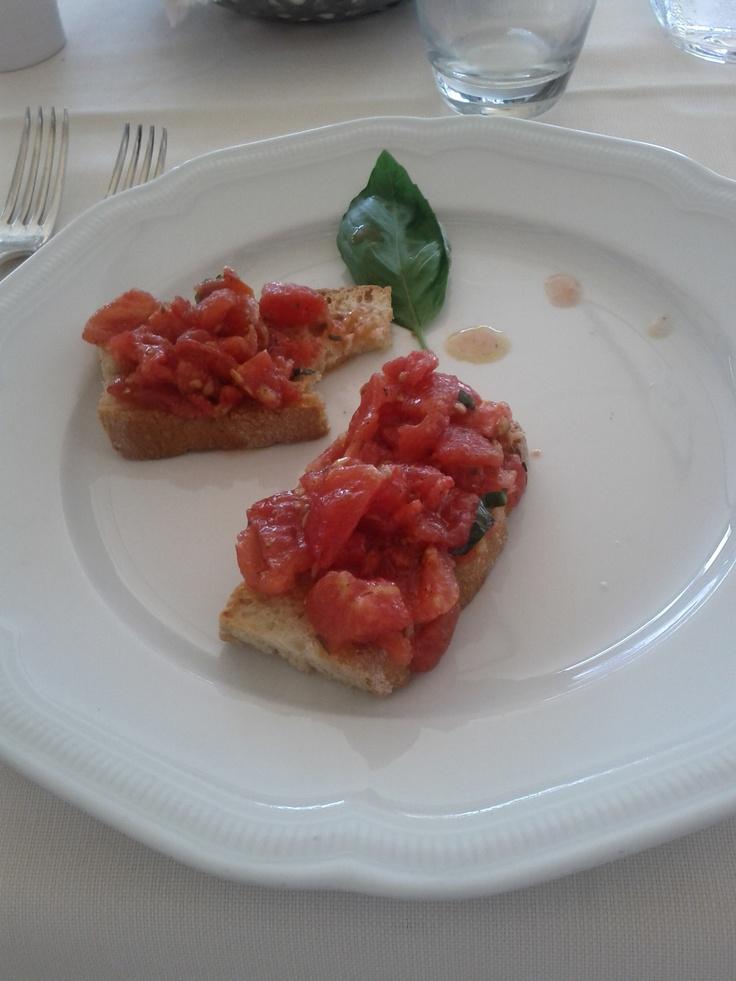 Bruschette pomodoro