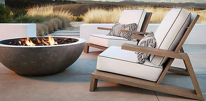 Olema Furniture Collection Weathered Grey Teak Rh Terrace Furniture Gray Patio Furniture Teak Outdoor Furniture