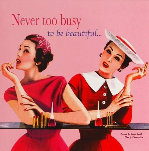 Never too busy to be beautiful...