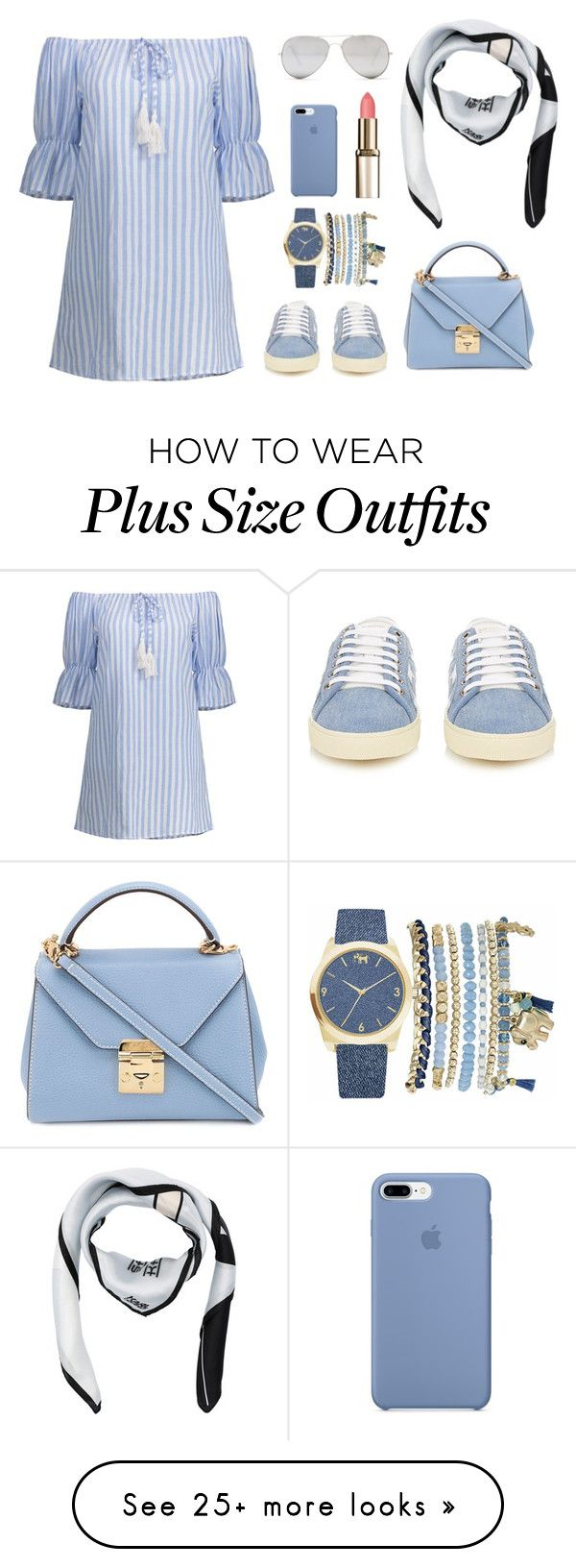 """Untitled #99"" by jauzamaharani on Polyvore featuring Yves Saint Laurent, Mark Cross, Sunny Rebel, Karl Lagerfeld and Mixit"