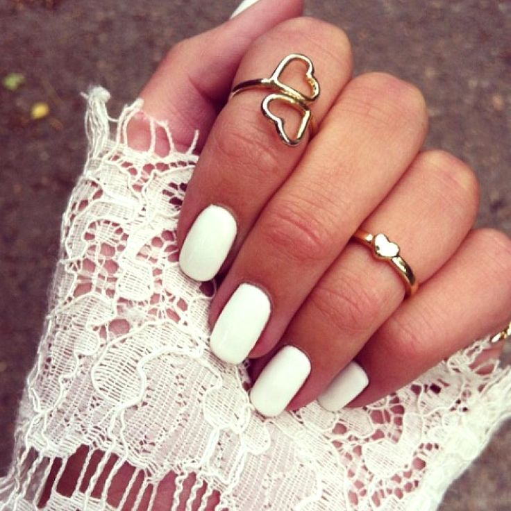 I never get white nails but I always see it on others and it looks so clean and pretty.. Next time ill do it for sure