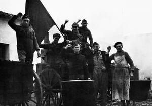 THE INTERNATIONAL BRIGADE DURING THE SPANISH CIVIL WAR, DECEMBER 1936 - JANUARY 1937