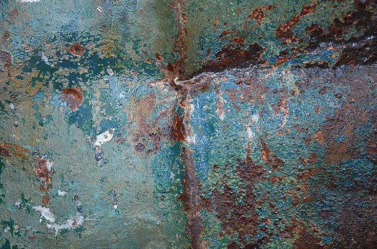 Rust and Patina Photos : 010.photo detail iron drum