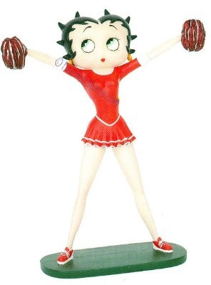 Betty Boop Cheerleader Table Statue | Betty Boop Decor | Pinterest | Betty  Boop