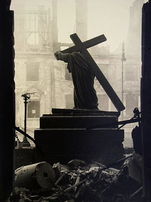 Aftermath of the Warsaw Uprising, 1944. by Chris Braun