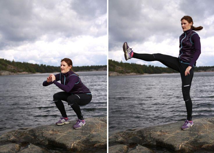 Informativt om squats och en rolig och alternativ squatsövning