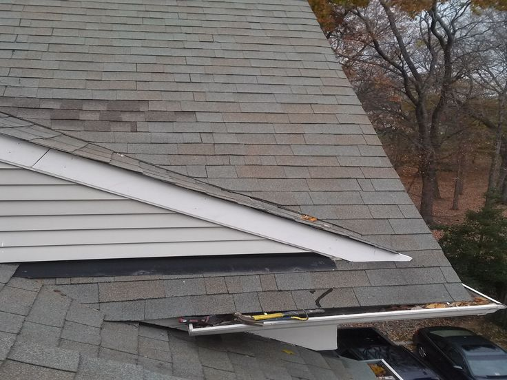 Completed Replacement Of Roof Level Rake Boards With Pvc