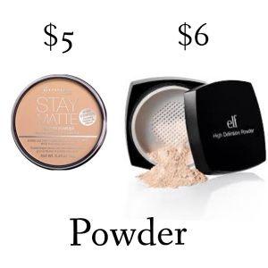 Best Drugstore Powders
