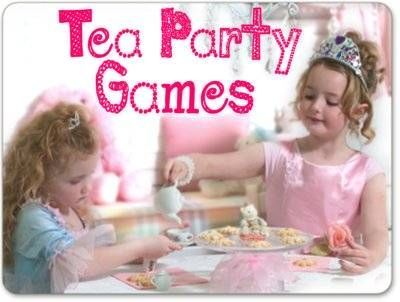 Tea Party Games for a fun and fabulous Par-Tea!