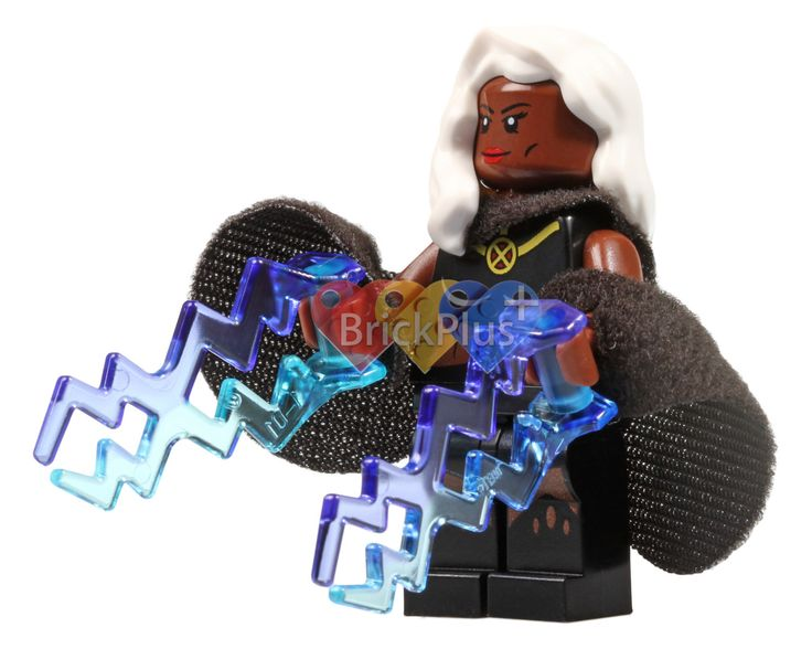 LEGO Storm Minifigure from X-Men Vs. Sentinel (76022), Digital file, Instant download by Brick2you on Etsy