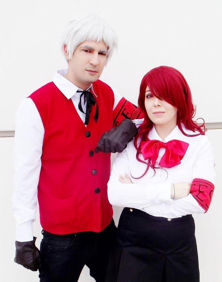 Mitsuru Kirijo and Akihiko Sanada cosplay by nyanrnia on DeviantArt
