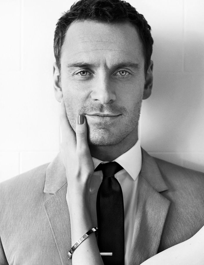 Michael Fassbender by Mario Testino for GQ magazine