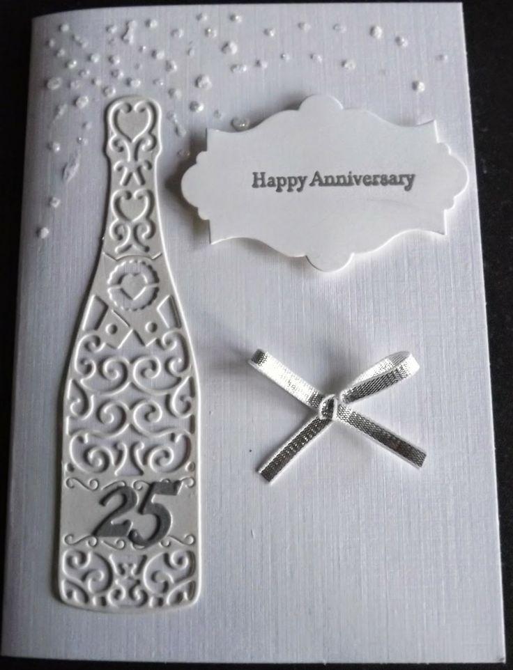 Открытка своими руками к серебряной свадьбе
