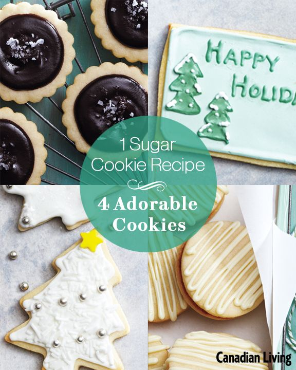 4 delicious sugar cookie recipes