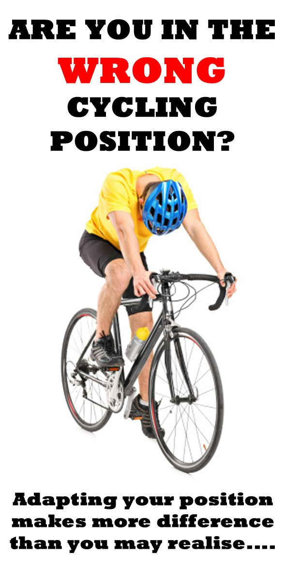 .WHAT ARE 5 SIGNS YOU'RE IN THE WRONG CYCLING POSITION?  http://thecyclingbug.co.uk/health-and-fitness/training-tips/b/weblog/archive/2015/03/06/5-signs-you-39-re-in-the-wrong-cycling-position.aspx?utm_source=Pinterest&utm_medium=Pinterest%20Post&utm_campaign=ad  Something as small as moving your seat down or up half an inch could prevent injury as well as maximuse your power output... #thecyclingbug #cycling #bike