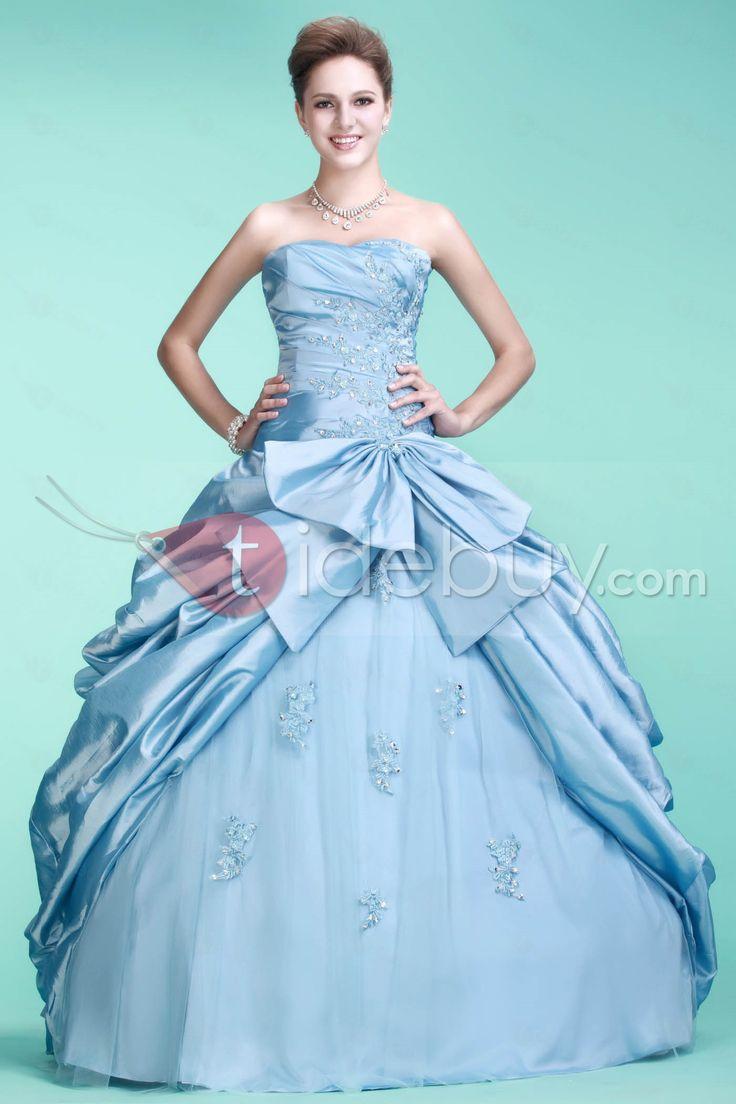 Brillante Estilo Dulce Vestido de Quinceañera con Largo Quinseañera dresses ♥LB♥ http://es.tidebuy.com