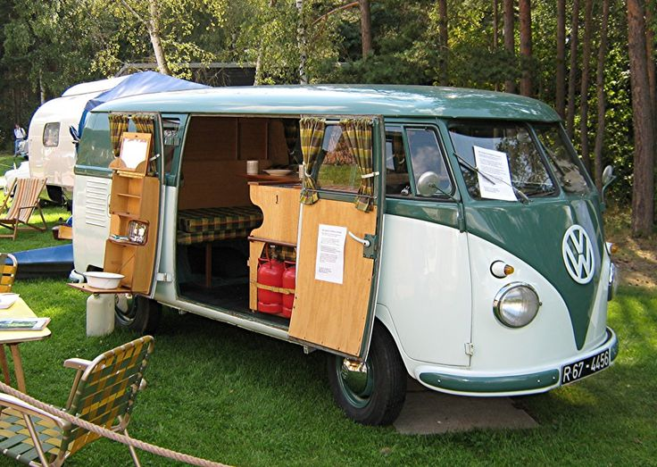 Early 1960s VW Camper Bus. I like this one better.
