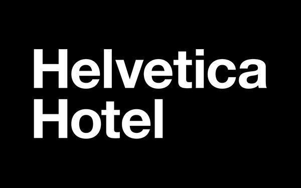 Helvetica Hotel on Behance