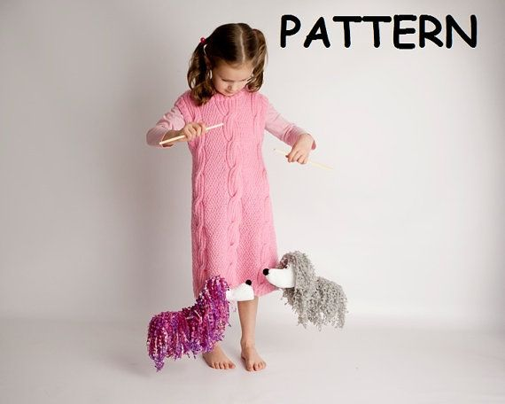 Dog Marionette -Puppet on strings -Sewing PATTERN Booklet -How to Make your own marionette  ,DIY