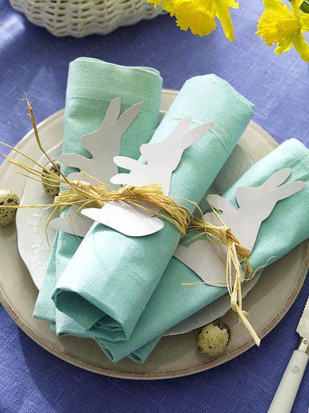 Osterbasteln - Ideen zum Selbermachen - serviette-papierhase15 Rezept