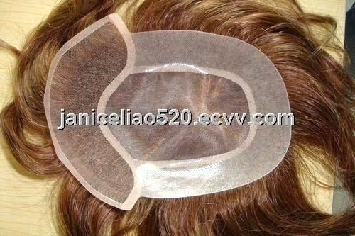 Swiss Lace Hair Piece Toupee/ hair replacement (HST060804) - China hair piece toupee, Hot Style Hair