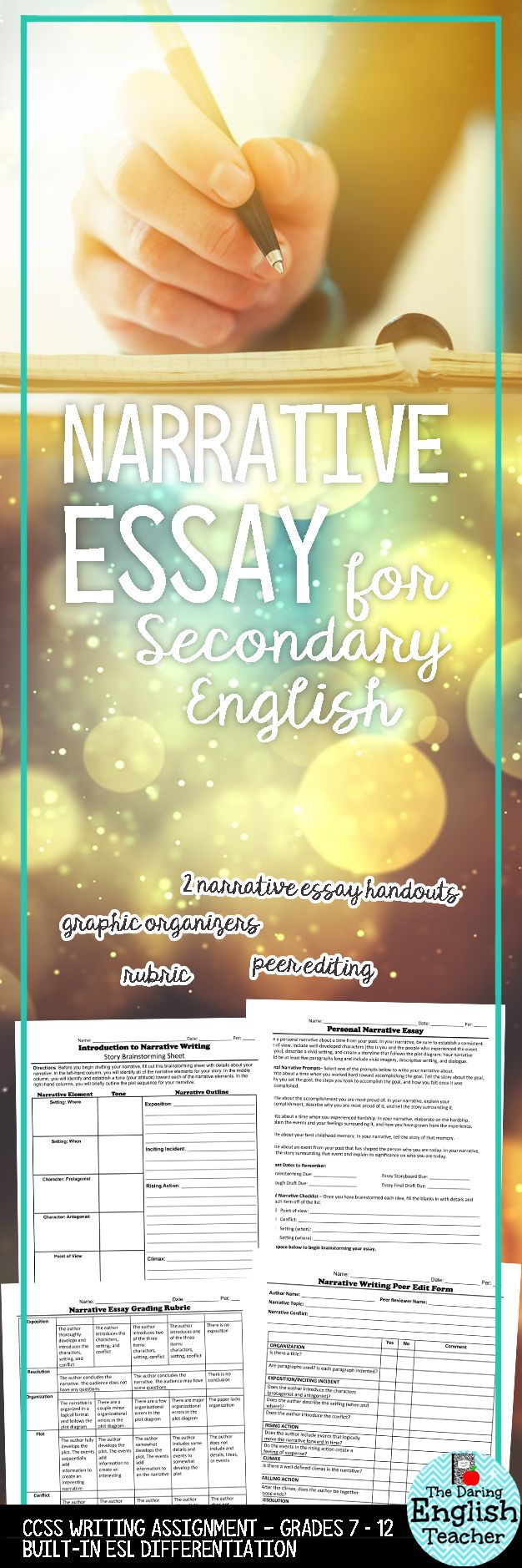 sample letter of interest for adjunct faculty%0A Engage your students in the narrative writing process with this complete  narrative essay assignment  This
