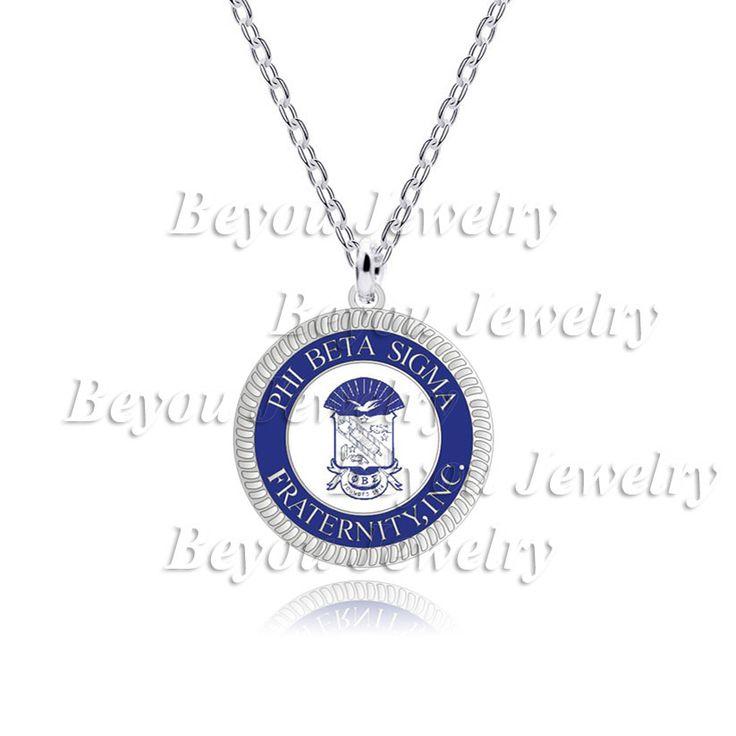 1pc  Phi Beta Sigma  logo  Fraternity Inc necklace Jewelry