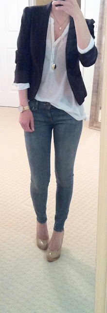 Gap long skinny jeans
