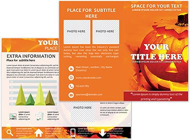 Best Brochure Templates Images On Pinterest Patterns And Butter - Fun brochure templates