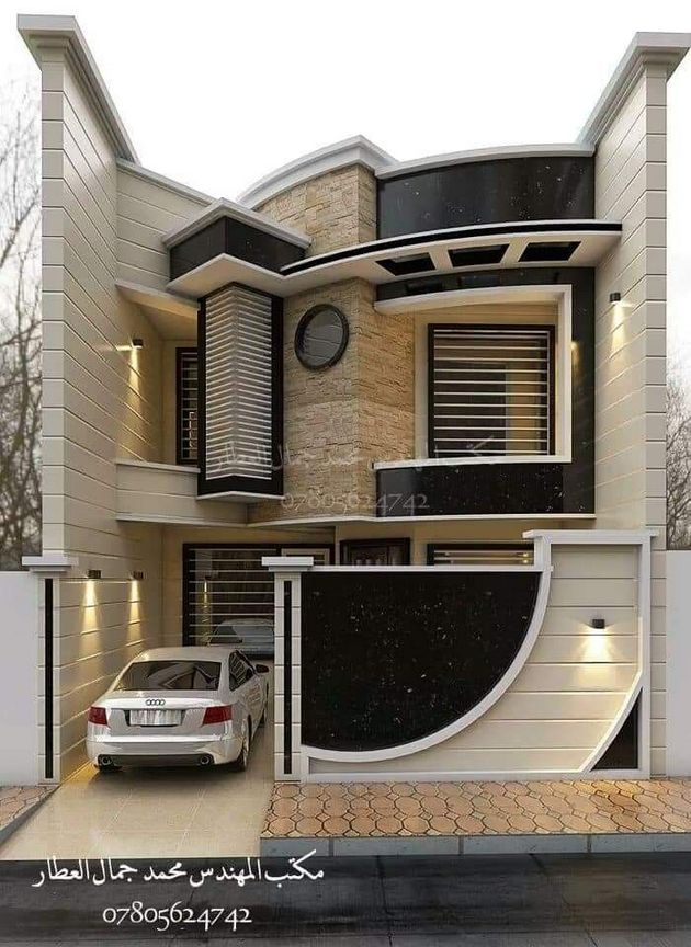 20 Creative Modern Home Architectural Designs In 2020 Bungalow House Design Duplex House Design Modern House Exterior