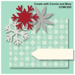CCMC283 - We hope you all had a wonderful Christmas! This week on Create with Connie and Mary Thursday Challenge we have a fun sketch for you! Come join the fun!